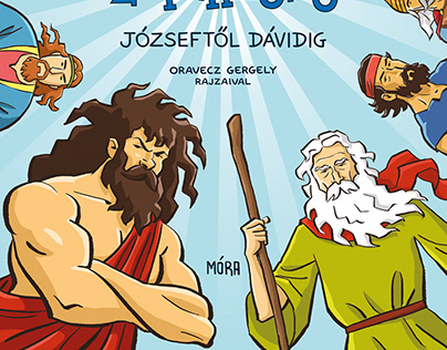 Bible Superheroes | Book Cover and Illustrations