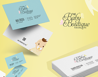 The Baby Boutique corporate identity