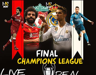 Champions League final between Real Madrid vs Liverpool