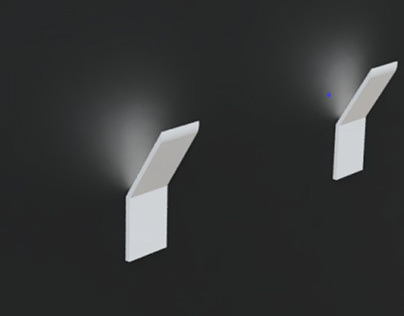 wall mounted light - fusion 360