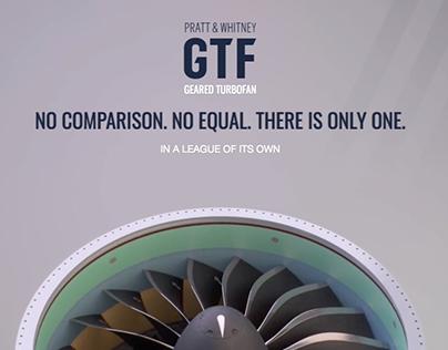 Pratt & Whitney GTF Microsite