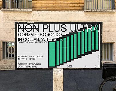 NON PLUS ULTRA Gonzalo Borondo solo show