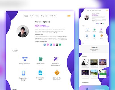 New portfolio design 🔥