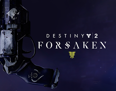 Destiny 2: Forsaken DLC Website Concept