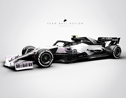 Chaparral 2Z-19 3D Livery Visualisation and Design