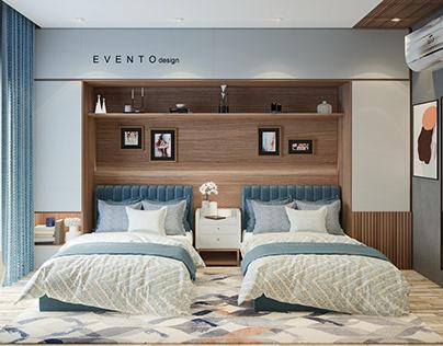 Shared bedroom