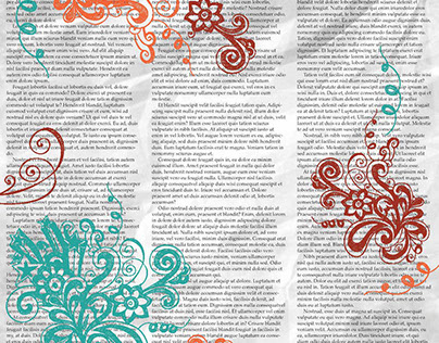 Everyday Scrapbook Paper Designs