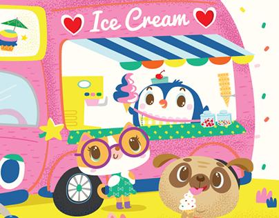 Very Icy Ice cream truck