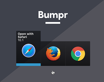 Bumpr: Life-changing Mac utility for multiple browsers