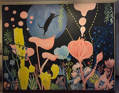 mural painting, Sanchong, New Taipei City (2020)