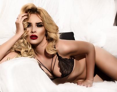 lingerie shoot.