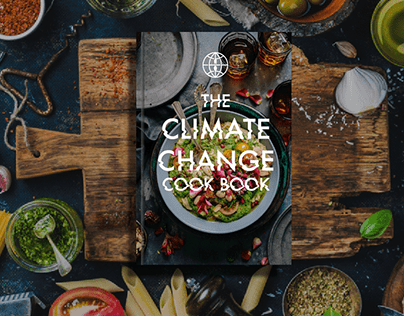 The Climate Change Cook Book Logo and Brand Identity