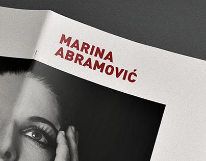 Marina Abramović / Editorial