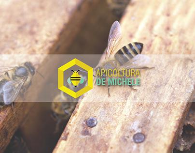 Apicoltura De Michele // logo
