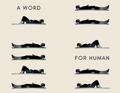 A Word For Human - Poster