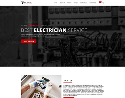 Electric website
