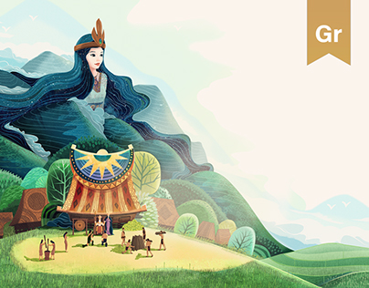 Van Tich (Once Upon)⭐ A Vietnam's folktale boardgame