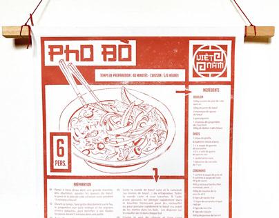 """Projet d""""Édition - PHO BÒ vietnamien"""