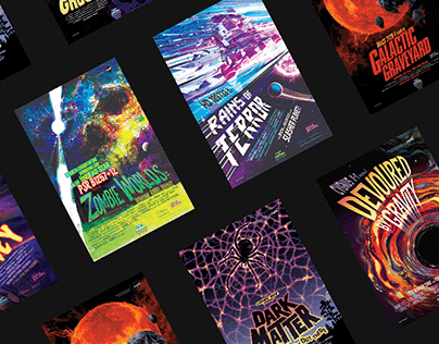 NASA Poster Series: Galaxy of Horrors
