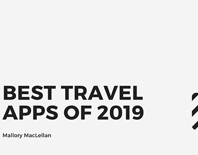 Best Travel Apps Of 2019 - Mallory MacLellan