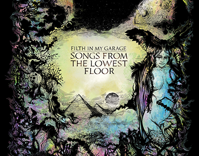"""FILTH IN MY GARAGE """"SONGS FROM THE LOWEST FLOOR"""" ART"""