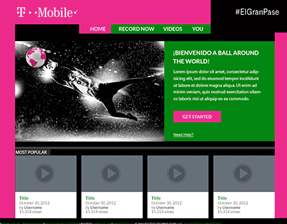 Univision | T-Mobile | World Cup Experience
