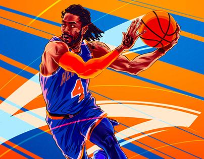 Flex NBA game - illustrations - 1st batch