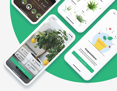 Plantapp - application for plant care | UX/UI