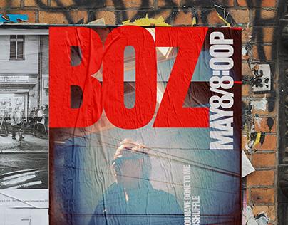 Boz Scaggs Concert Poster