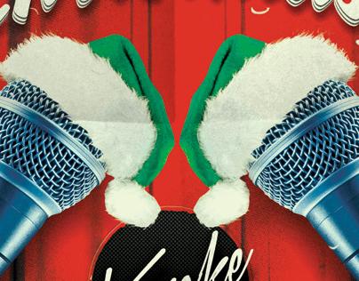 Christmas Karaoke Flyer