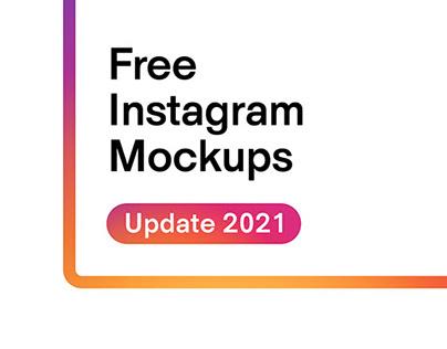 Free Instagram Mockups 2021