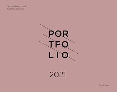 Textile Design Portfolio 2021