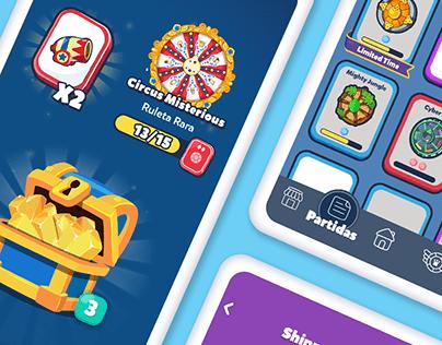 UI - Trivia Crack 2 - Cards & Chest Elements