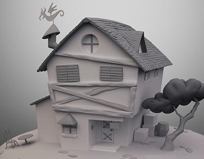 Harpy Gee House - Opal's Item Shop