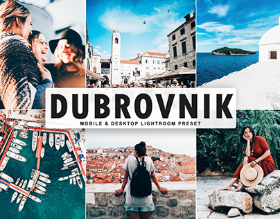 Free Dubrovnik Mobile & Desktop Lightroom Preset