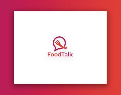 Food Talk (Mobile App) Logo