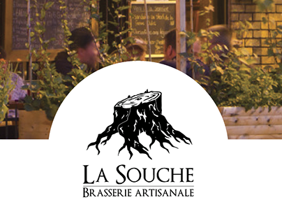 Microbrasserie La Souche - New website prototype