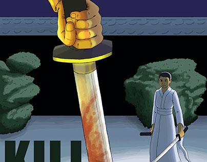 Kill Bill fan poster