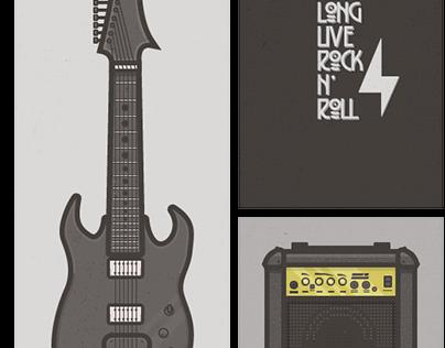 Guitar+Amp Set