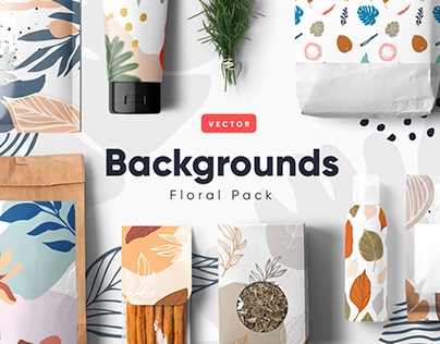 Floral Backgrounds & Patterns