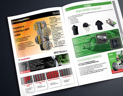 Car tyres catalog