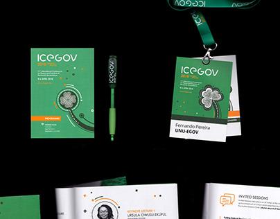 ICEGOV 2018 | brand identity