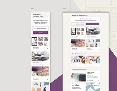Wayfair Email Design Guide