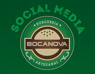 Social Media | Bocanova Hamburgueria