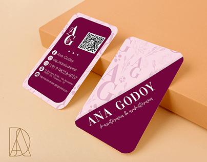 Cartão de visita - Ana Godoy