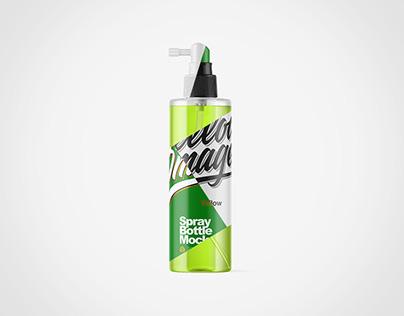 Spray Bottle PSD Mockups