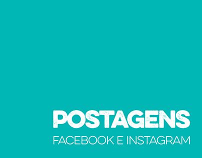 Posts Facebook e Instagram 2016