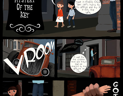 Graphic Novel page