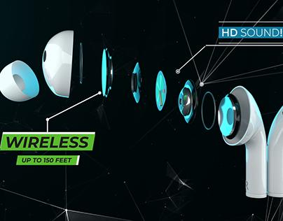 FULL CGI EARPHONES - SKEIPODS E70