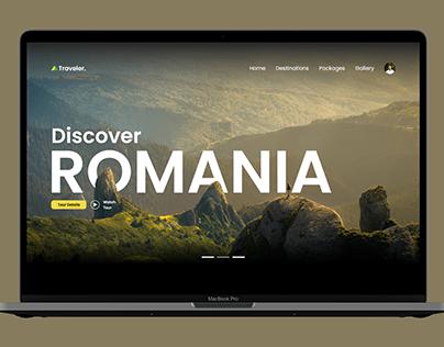 UX/UI Design Concept for Travel Agency - Traveler.